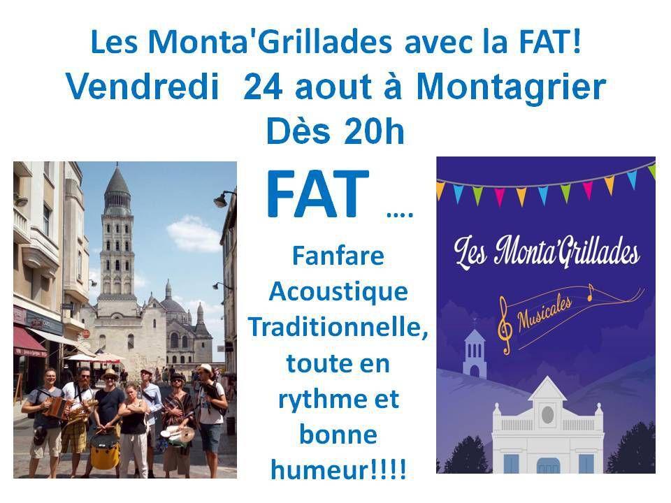 le 24 août, soirée animée avec la FAT à Montagrier!