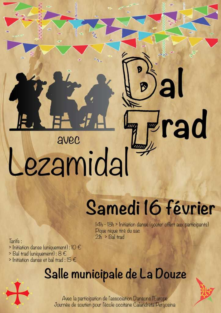 STAGE INITIATION A LA DANSE TRAD 14H 18H