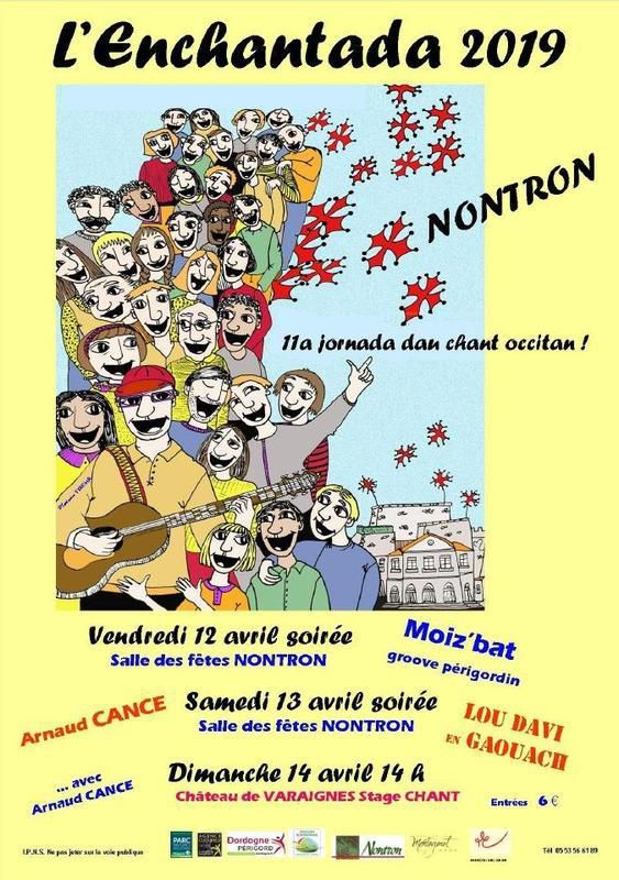 NONTRON L'ENCHANTADA 2019 du 12 AU 14 AVRIL