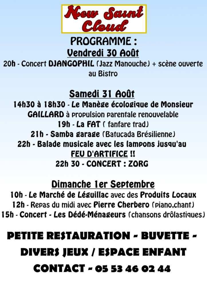 Léguillac de L'Auche, ce week end....