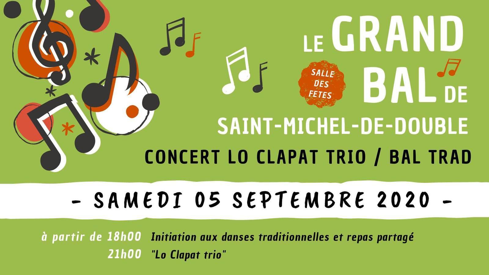 5 septembre, soirée trad à Saint Michel de Double