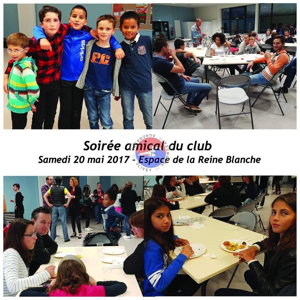 Soirée Repas du club du 20 mai - Espace Reine Blanche
