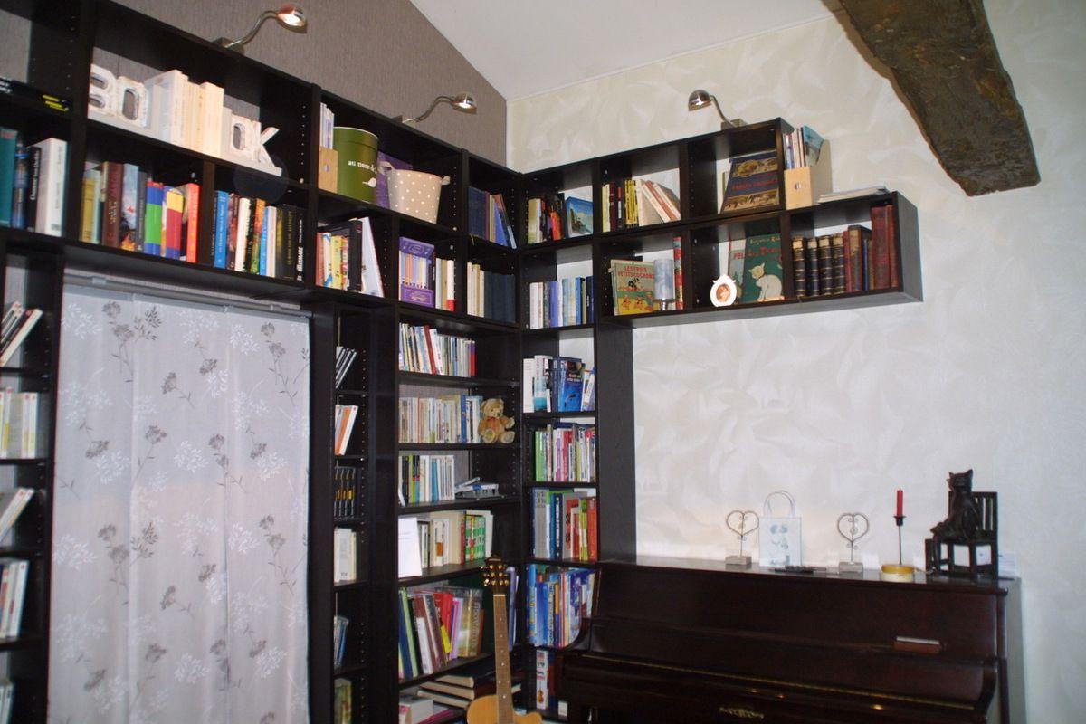 """Ikea Placard Sur Mesure une bibliothèque ikea """"sur mesure"""" - du vent dans les girouettes"""