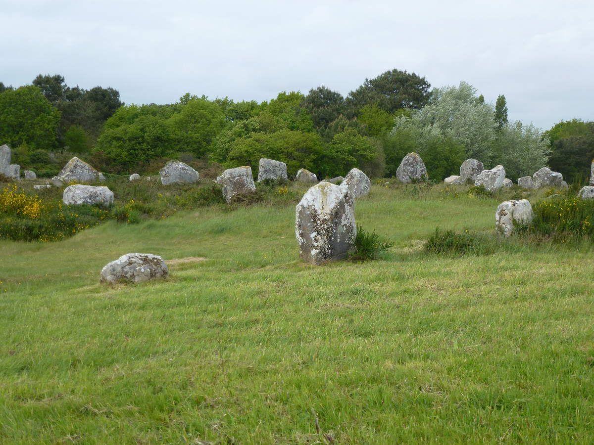 Les alignements de Carnac et alentours...Ménec,Kermario, Kerlescan, Kerzerho ( Erdeven), Cromlech'h (Crucuno)