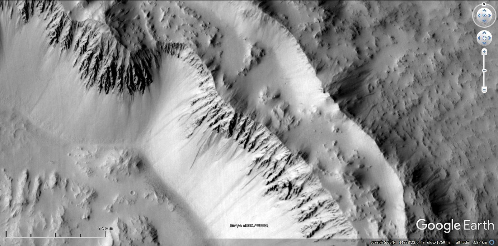 Mars ressemble au désert du Namib
