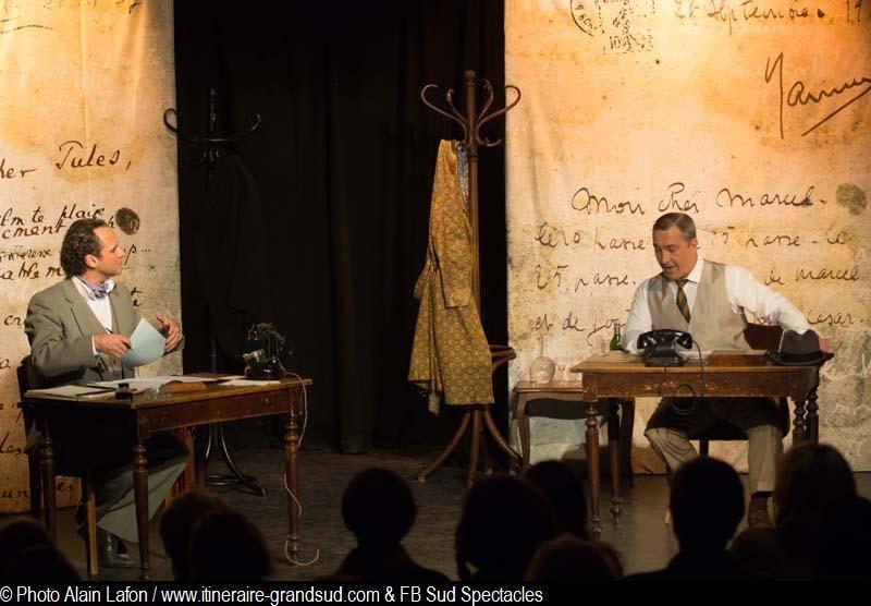 Photos extraites de la pièce Jules et Marcel