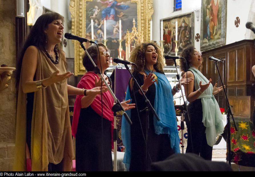 Photos réalisées lors du premier concert des Feelin's9 à l'église Saint Eutrope de Méounes-les-Montrieux