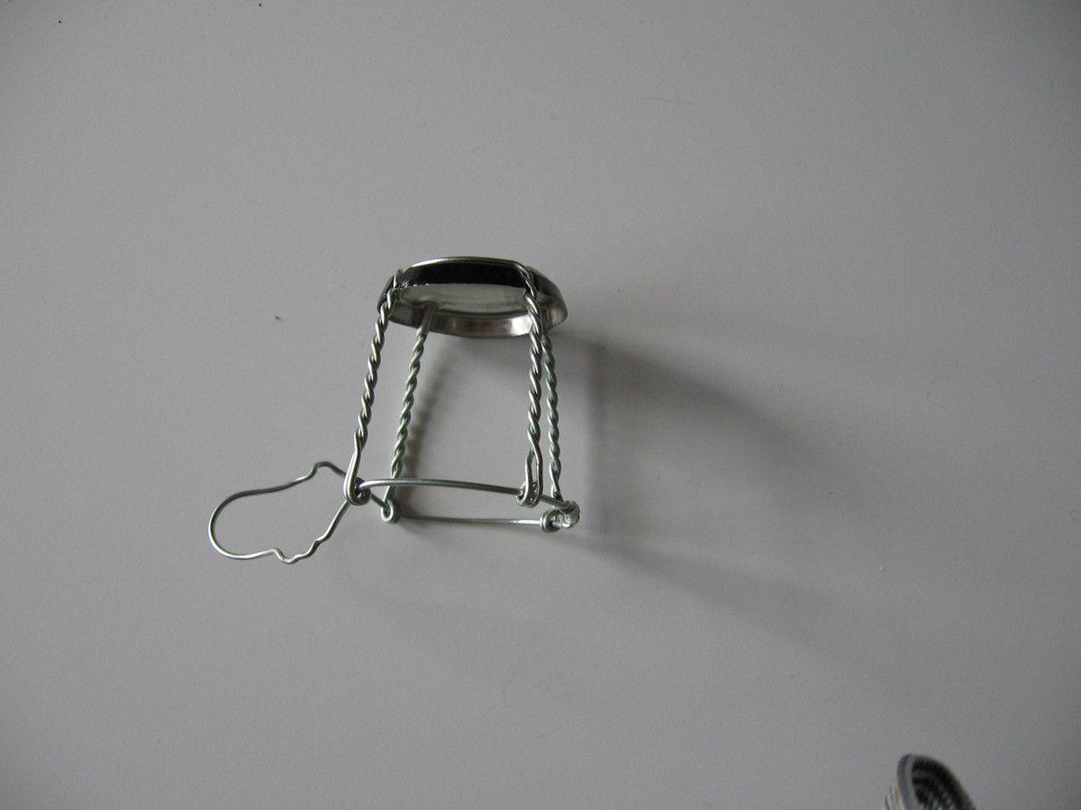 Fabriquer Carcasse Abat Jour 7) lampe miniature - du rêve à la réalité