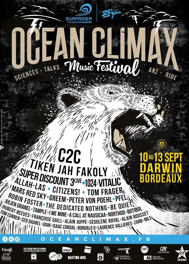 Ocean Climax : Musique, environnement et sciences.