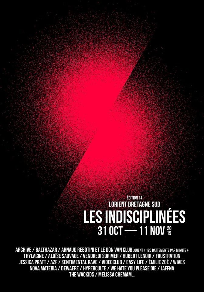 [FESTIVALS] Les Indisciplinées - Lorient (31 octobre au 11 novembre)