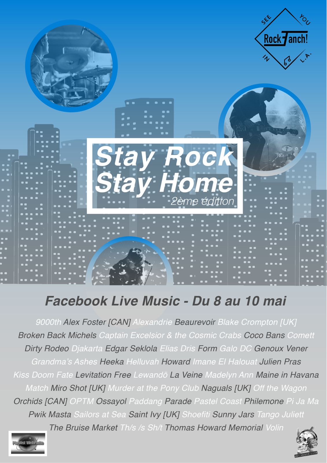 [PLAYLIST] Festival Stay Rock Stay Home #2