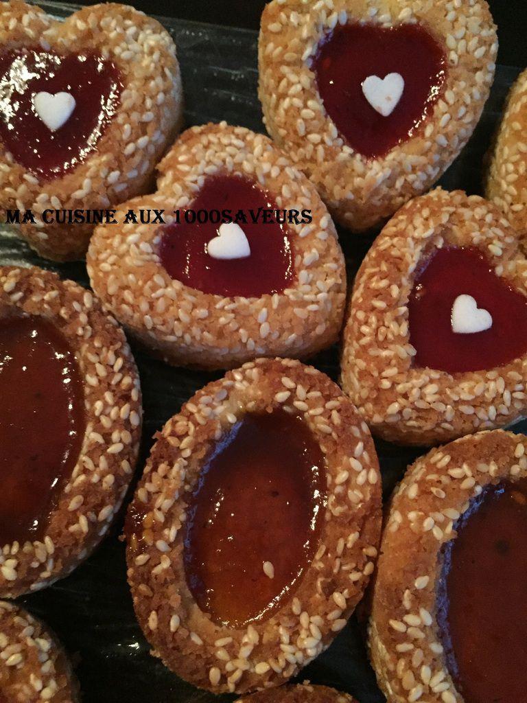 gâteaux aux graines de sésame