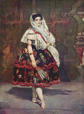 Du coeur à l'ouvrage / Manet, 1862