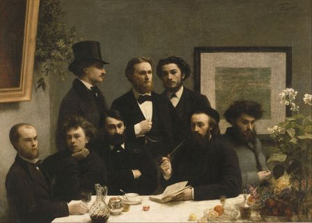 Le Coin de table, Fantin-Latour, 1872