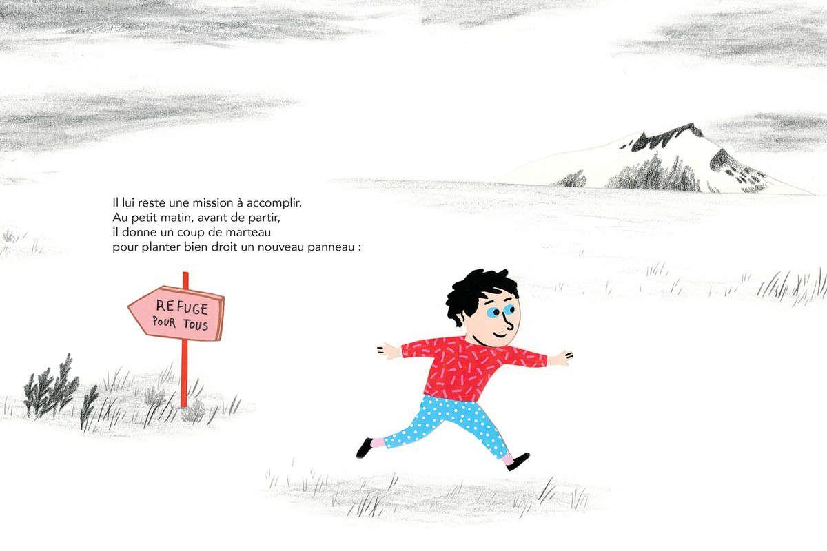 Crédits © Le refuge, Géraldine Alibeu, Éditions Cambourakis
