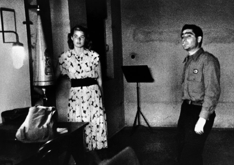 Ingrid Bergman et Robert Capa - mariés aux grands cieux?