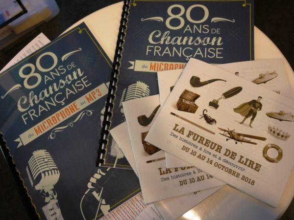 80 ANS DE CHANSON FRANCAISE, DU MICROPHONE AU MP3