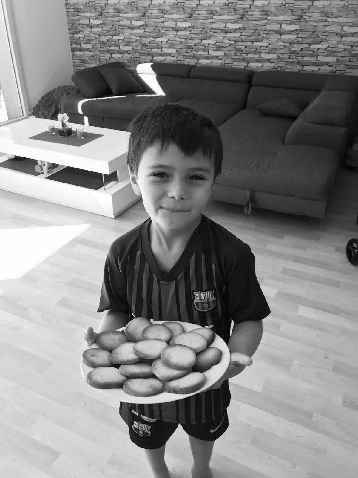 recette N°22- les petits sablés de Nolan-