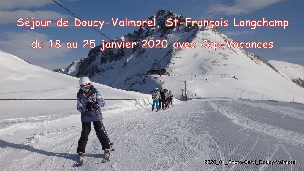 Séjour alpin à Doucy-Valmorel de janvier 2020 avec Cap Vacances