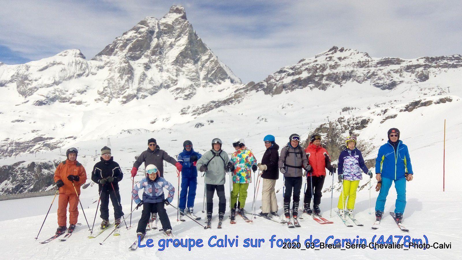 Séjour ski Breuil-Cervinia/Serre-Chevalier mars 2020
