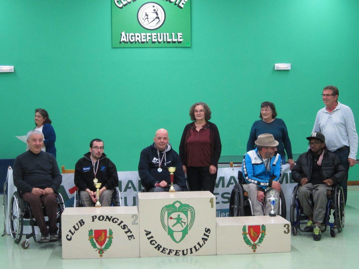 Aigrefeuille tennis de table handisport un 1er tour - Comite charente tennis de table ...