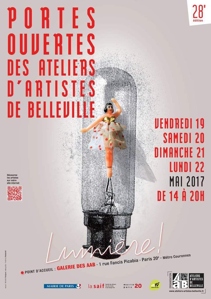 EXPOSITION DES PHOTOGRAPHES PARISIENS DANS LE CADRE DES PORTES OUVERTES DES ATELIERS D'ARTISTES DE BELLEVILLE