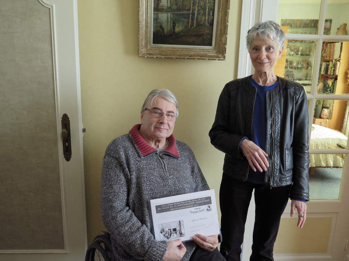 Merci à Alicia pour ce souvenir et à Corinne et Jean pour la remise de son prix à notre très cher Ami Gérard