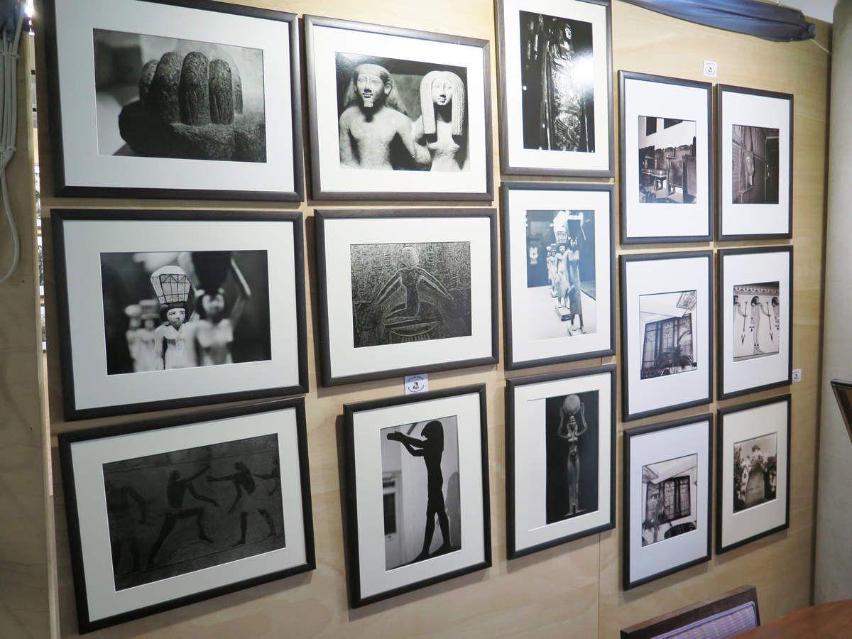 """Exposition dans le hall """"L'Egypte à Paris"""""""