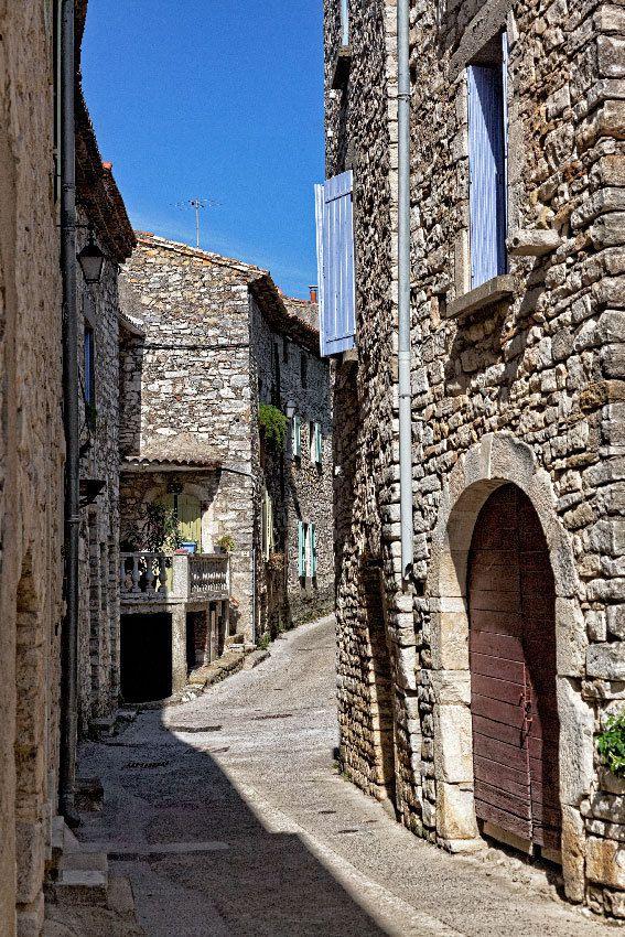 Le Gard : Vézénobres