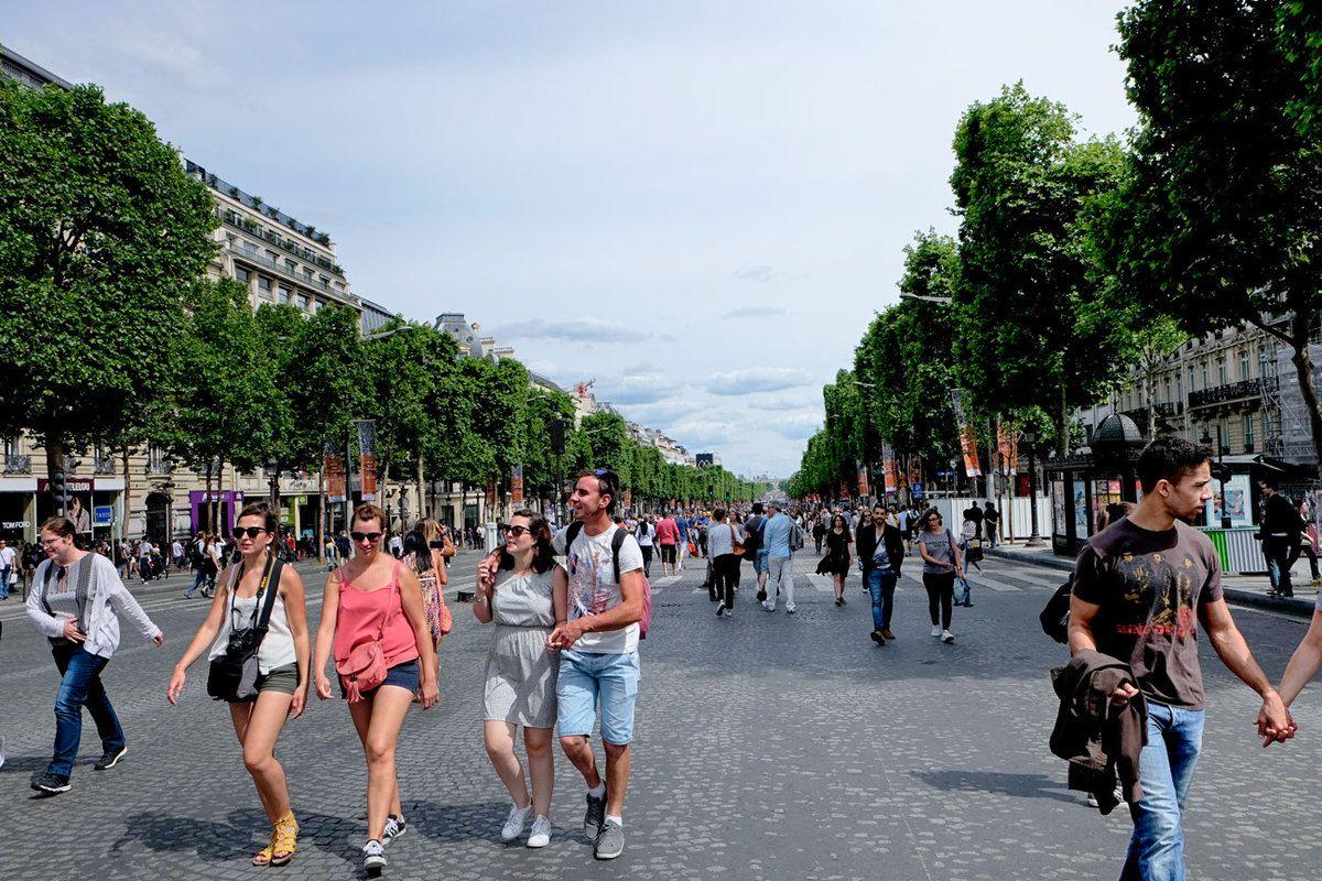 Champs Elysées piétonnier