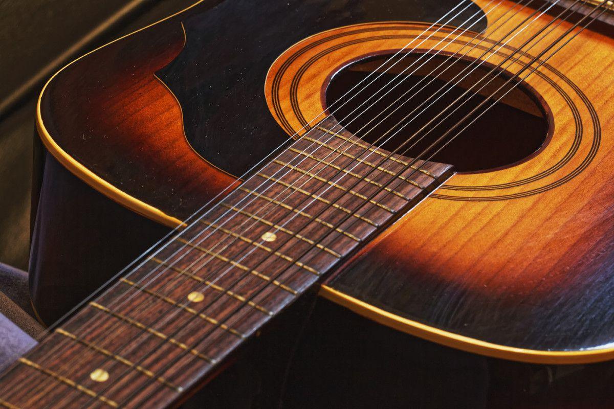 Musique - Guitare à 12 cordes