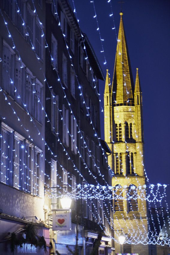 Limoges by night - Noël