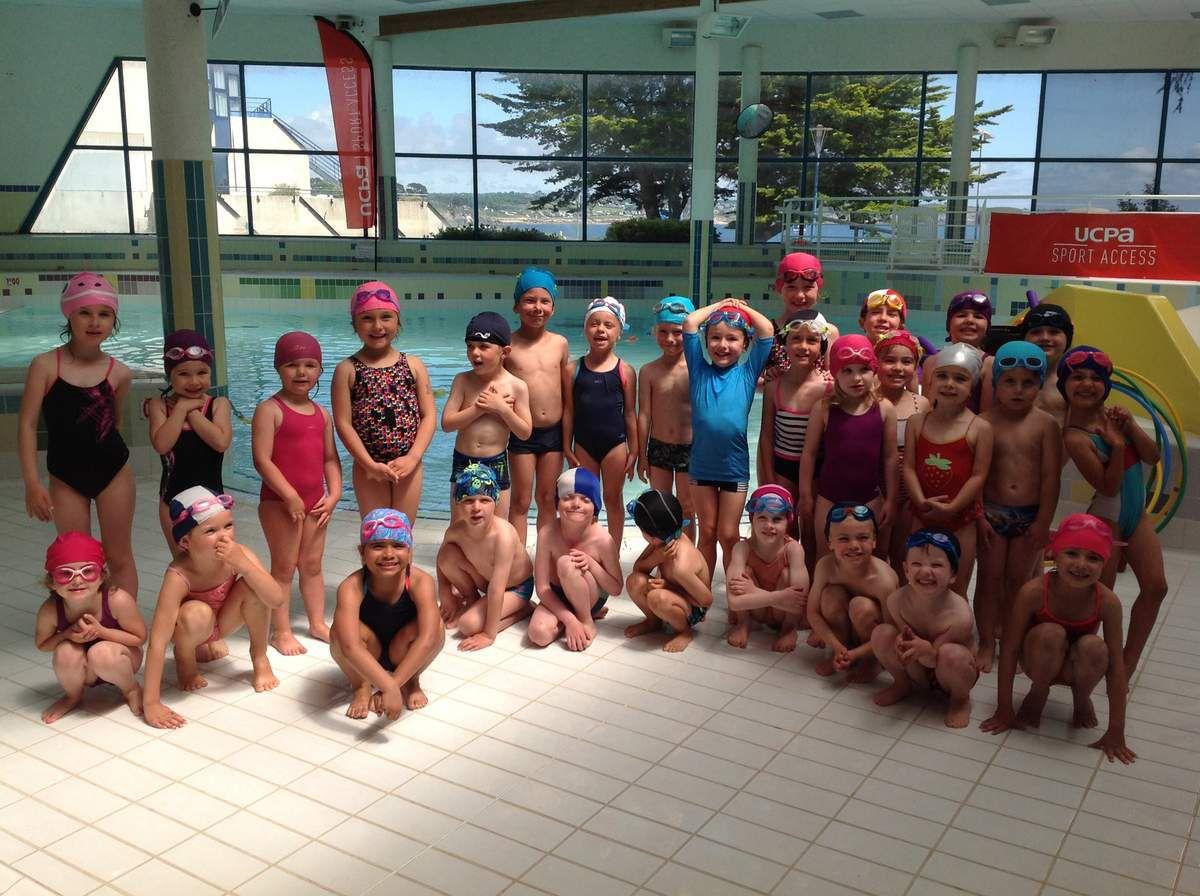 Les MS et GS à la piscine!