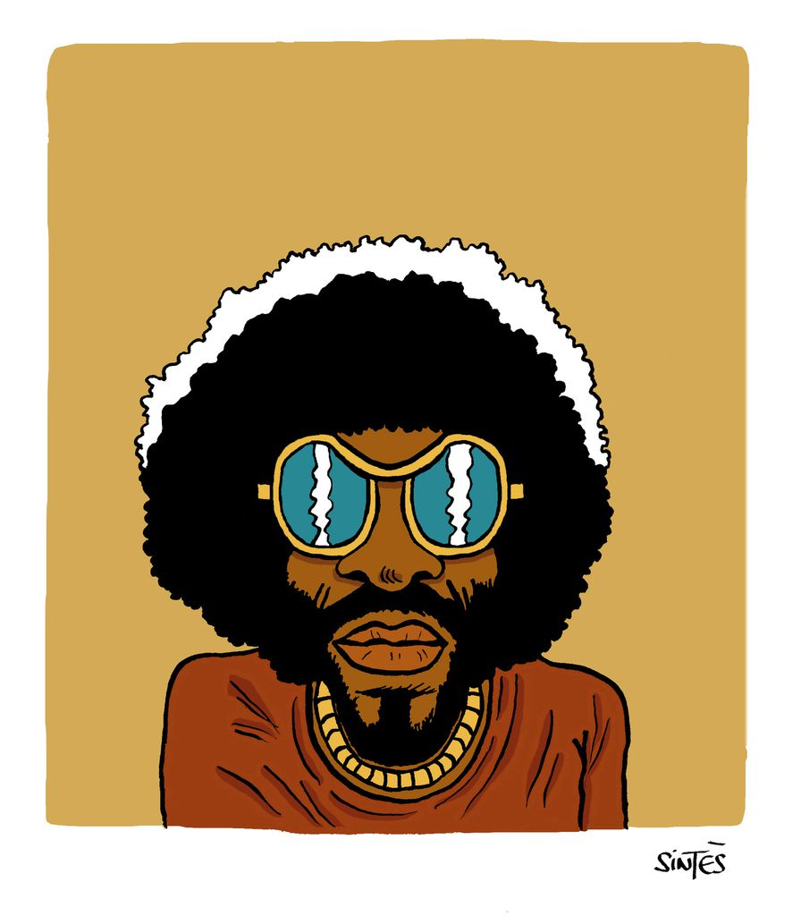 Sly without The Family Stone.