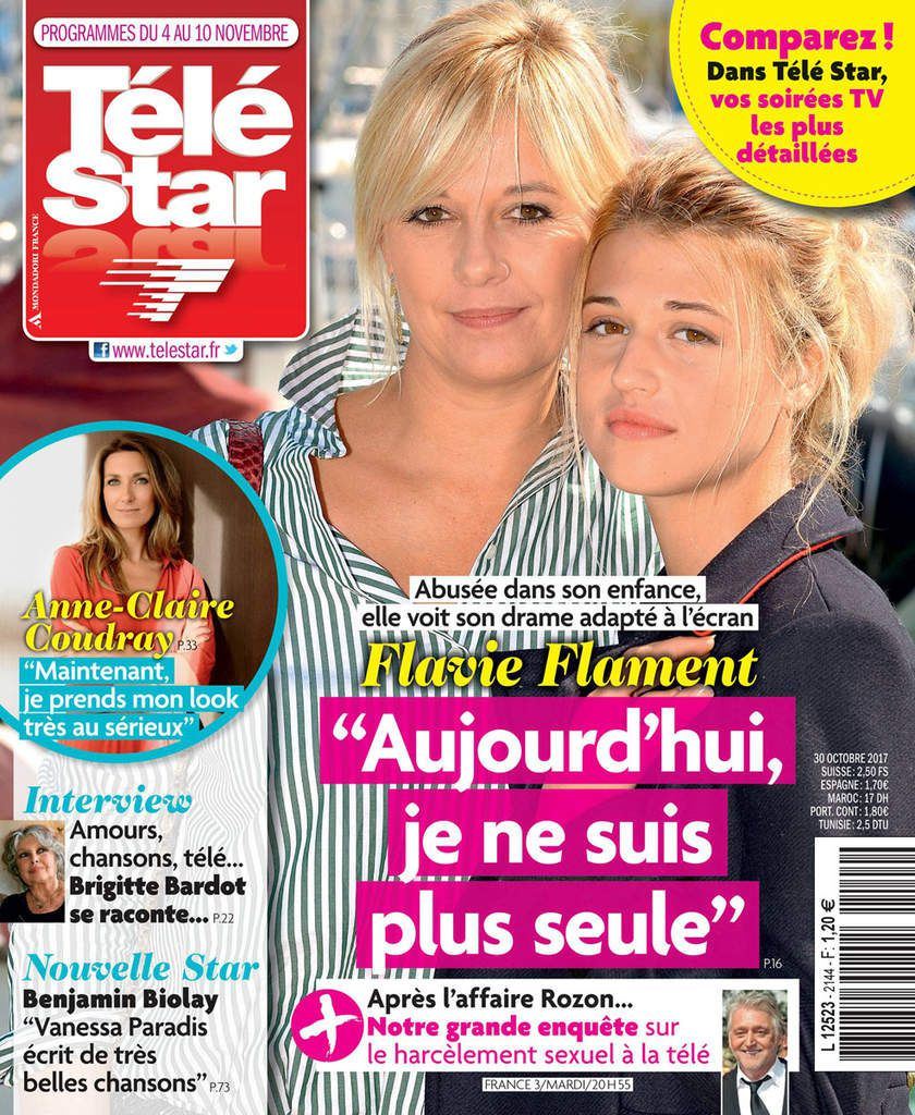 Flavie Flament à la Une de Télé Star...!