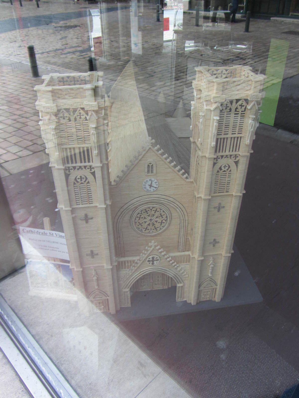 Eglise Saint Vincent Chalon sur Saône (71) realisée par Delorme Michel