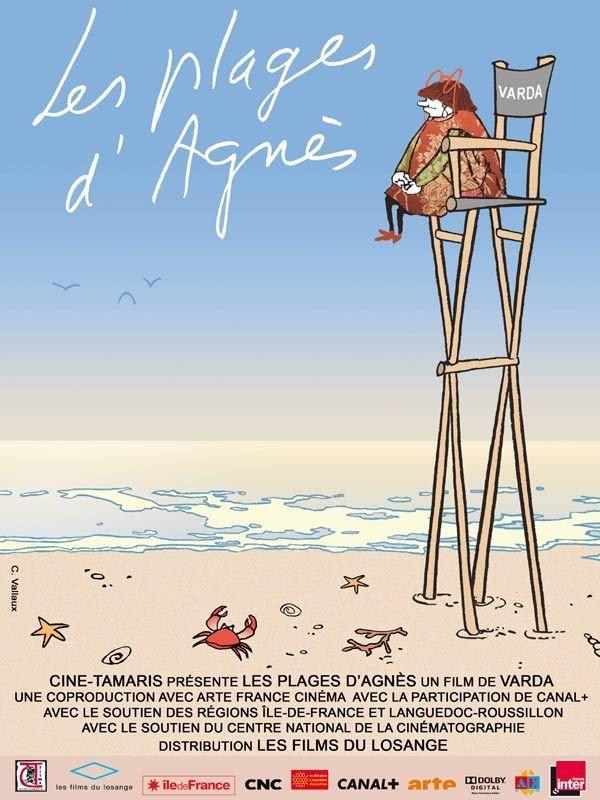 Les plages d'Agnés affiche zabouille