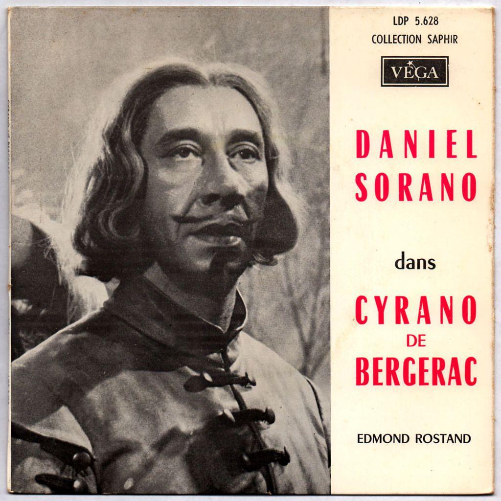 Daniel Sorano dans Cyrano de Bergerac d'Edmond Rostand