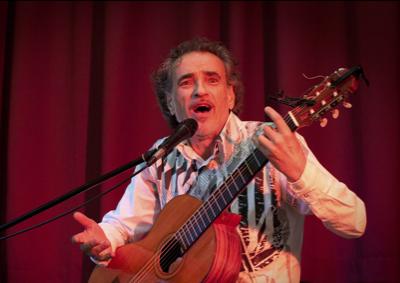 """Spectacle chanson """"Comme dans un bar"""" avec Alain Veluet"""