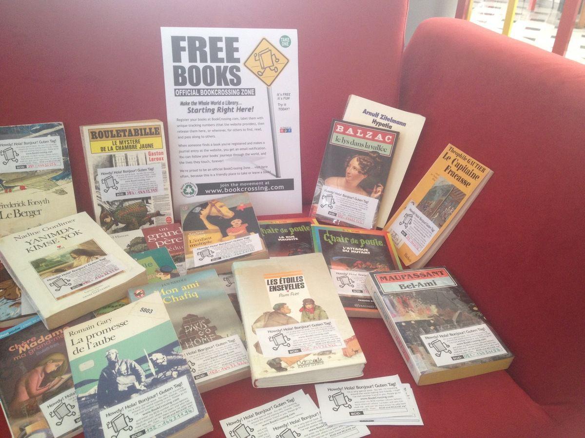 Les livres voyageurs / Gezici kitaplar / Bookcrossing