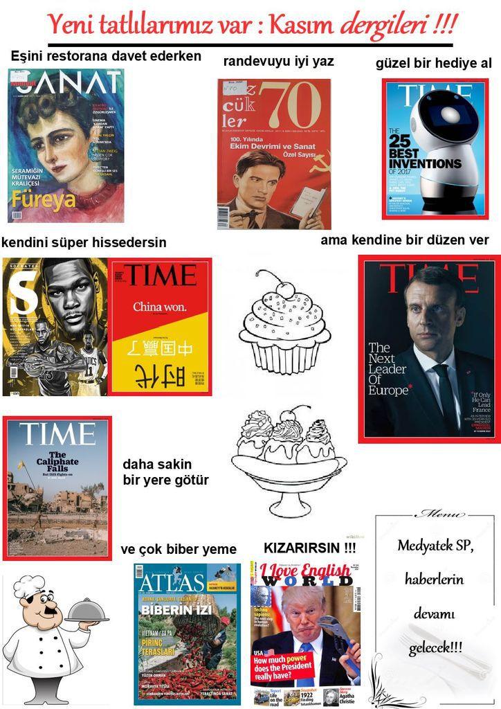 La revue de presse du mois de novembre