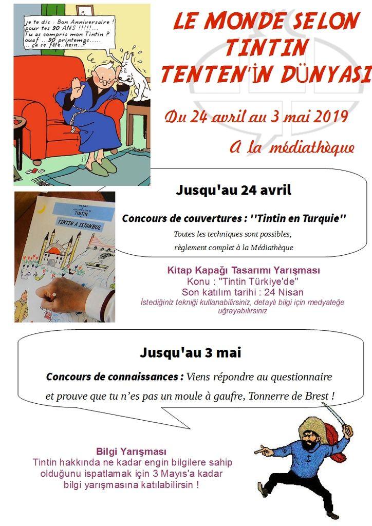 Concours créatif sur Tintin : à vos pinceaux et crayons !