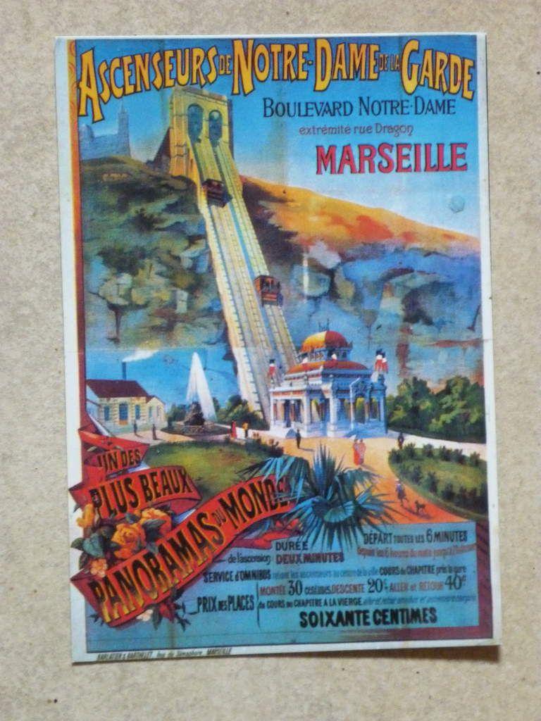 12. Marseille - Ascenseurs de Notre-Dame de la Garde