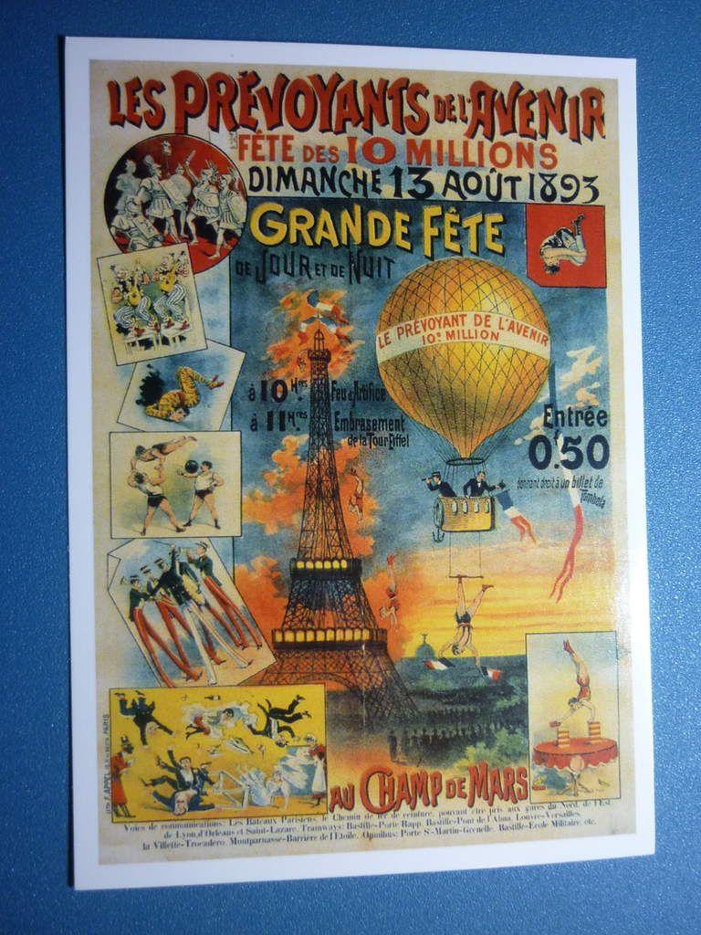 11. Paris - Les Prévoyants de l'Avenir - Grande fête au Champ de Mars le 13 août 1893
