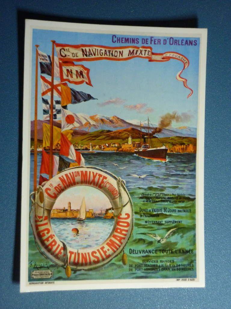 7. 1900 - Chemins de Fer d'Orléans - Compagnie de Navigation Mixte