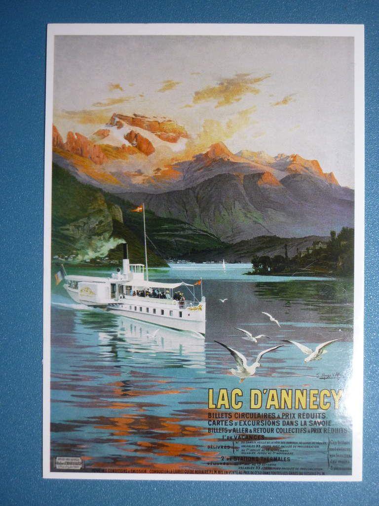 46. Lac d'Annecy de Hugo d'Alesi