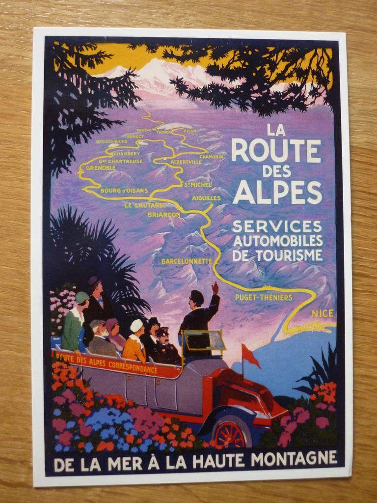 62. La Route des Alpes de la mer à la haute montagne - Roger Broders