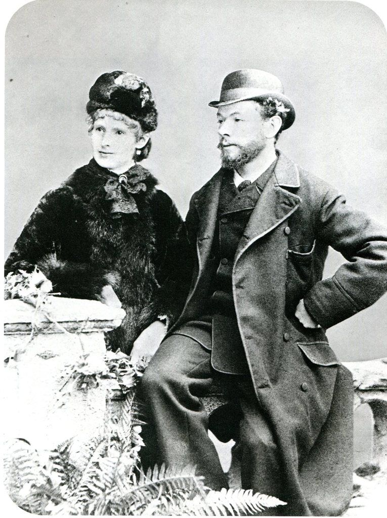 Michel Zuffrey et sa femme