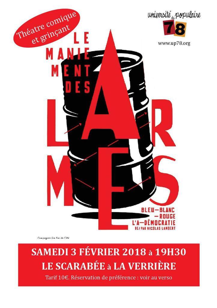 La Verriere, 3 Février, spectacle en partenariat avec Amnesty