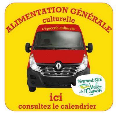 L'épicerie culturelle arrive à Dampierre le 10 Septembre à 17h